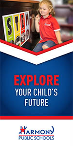 Explore your child's future | Vertical Banner