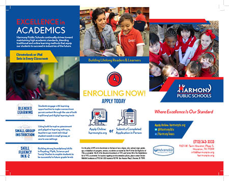 Elementary Enrollment Brochure in English 1