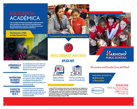 Elementary Enrollment Brochure in Spanish 1