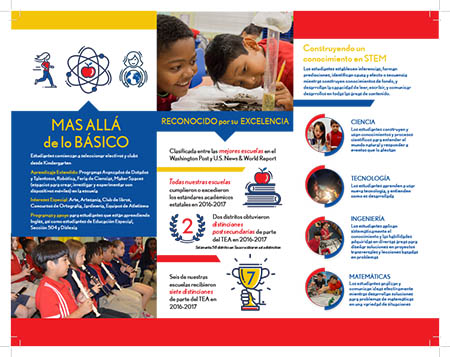 Elementary Enrollment Brochure in Spanish 2