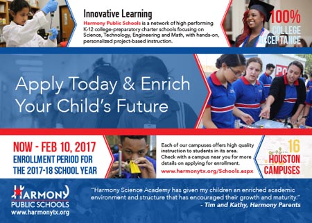 Apply Today & Enrich Your Child's Future