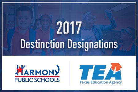 2017 Destinction Designations